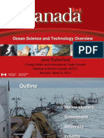 Ocean Science Technology in Canada March 2013