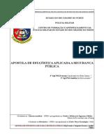 Apostila de Estatística Básica CFAPM
