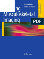 Learning Muscoloskeletal Imaging