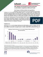 2012 Factsheet Nr 4 Alkohol Tabak Cannabis