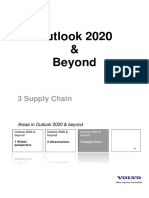 Outlook Report - Supply Chain Management 2020 and Beyond