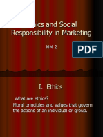 Ethics in Marketing & Social Responsibility