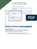 Como Hacer La Actividad 4- Excel