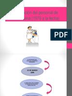 Formación Del Personal de Enfermería (1979 a La Actualidad)