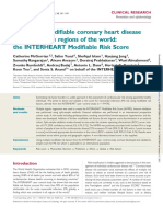 Estimating Modifiable Coronary Heart