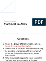 Science F3 Chapter 9-Stars and Galaxies-Part 2-PPT