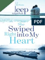 She Swiped Right Into My Heart Sudeep Nagarkar
