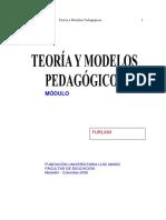 ..Teoría y Modelos Pedagógico1