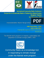 Community Radio  Climate Change & Disaster Risk Reduction