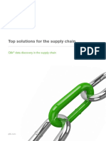 Top Solutions for the Supply Chain Qlik Data Discovery in the Supply Chain Brochure US