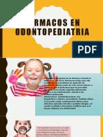 Farmacos en Odontopediatria