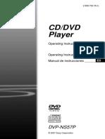 Sony Dvpns57p