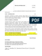 Process Optimization (1)