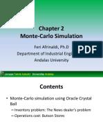 Week 4 TIN 403 Simulasi Sistem - Monte-Carlo Simulation