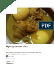 1 Opor Ayam Dan Telur