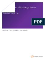 US Taxation of J-1 Exchange WP