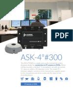 Spec Micro ASK 4 300
