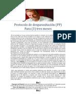 Protocolo de Desparasitacion PP