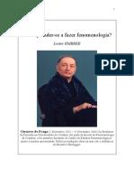 Fazer Fenomenologia FINAL 2