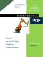 Evolución Histórica de La Robótica Industrial