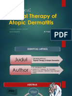 Ppt Jurnal Topical Therapy of Atopic Dermatitis