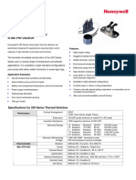 250 Thermal Switch Product Brochure