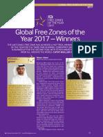 FDi Global Free Zones of the Year 2017