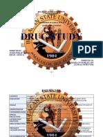 Drug Study Batch 1