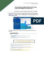 Manual de Instalación del SRI-DIMMFormularios Macintosh