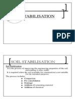 Soil Stabiliazation