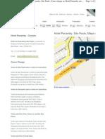 Localizacao e Mapa Panamby Hotel Guar