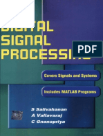 335563290 Digital Signal Processing by S Salivahanan PDF