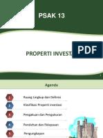 PSAK 13 Properti Investasi 06022017