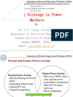 2 - Bidding Strategy in Power Markets - Prof. S N Singh
