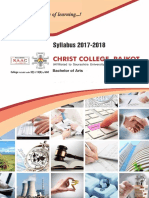 BA Syllabus 2017-18 by Christ College - Rajkot