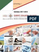 BBA Syllabus 2017-18 By Christ College - Rajkot