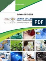 BCA Syllabus 2017-18 By Christ College - Rajkot