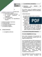 Tema 2. Teorías Lingúísticas Actuales.
