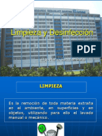 Limpieza y Desinfección de Amb Esterilizacion 1 [Recuperado].ppt