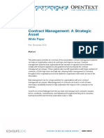 Contract Management - A Strategic Asset Whitepaper