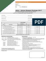 School Packages 2017