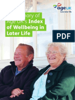 AgeUK Wellbeing Index Summary Web