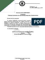 Adresa ANP - solicitare observator (4 posturi director economic)