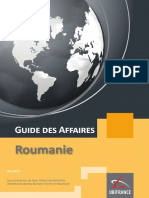Business France - Guide Des Affaires Roumanie 06-2015