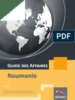 Business France - Guide Des Affaires Roumanie 06-2015