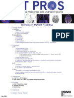 Elements of Pet Ct Reporting