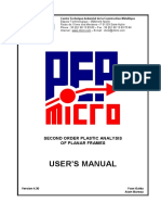 Manual Pep Micro