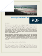 Development of Chin State by Dr Tun Than