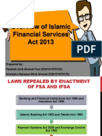 Overview of Financial Services Act 2013