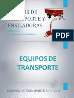 Equipos de Transporte y Ensiladoras